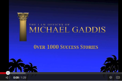 Watch video testimonials from real clientls of San Diego Loan Modification Attorney, Michael Gaddis