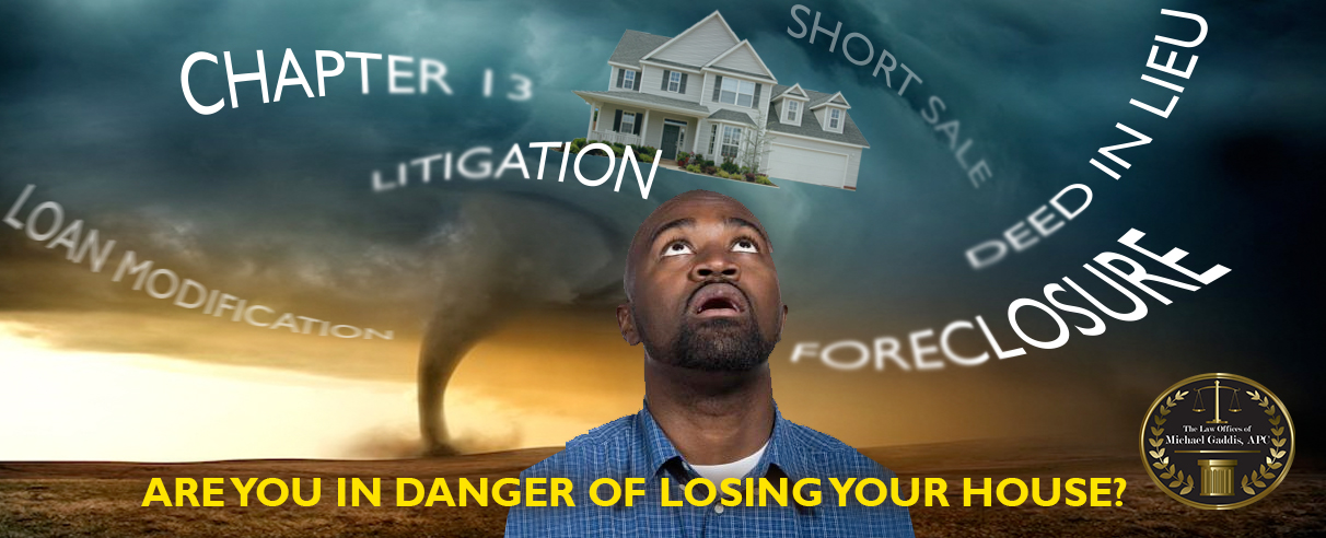 Loss Mitigation Photo-Are you in danger of losing your house